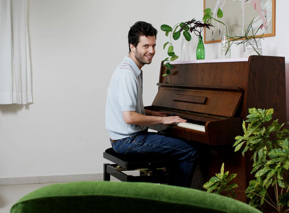 """""""המורה  שלי לפסנתר  ממש שינתה את מי שהייתי"""" (צילום: אביגיל עוזי)"""