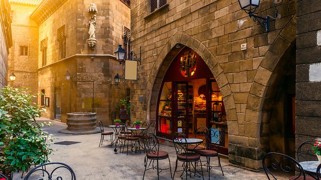 סמטאות ברצלונה, ספרד (צילום: shutterstock)