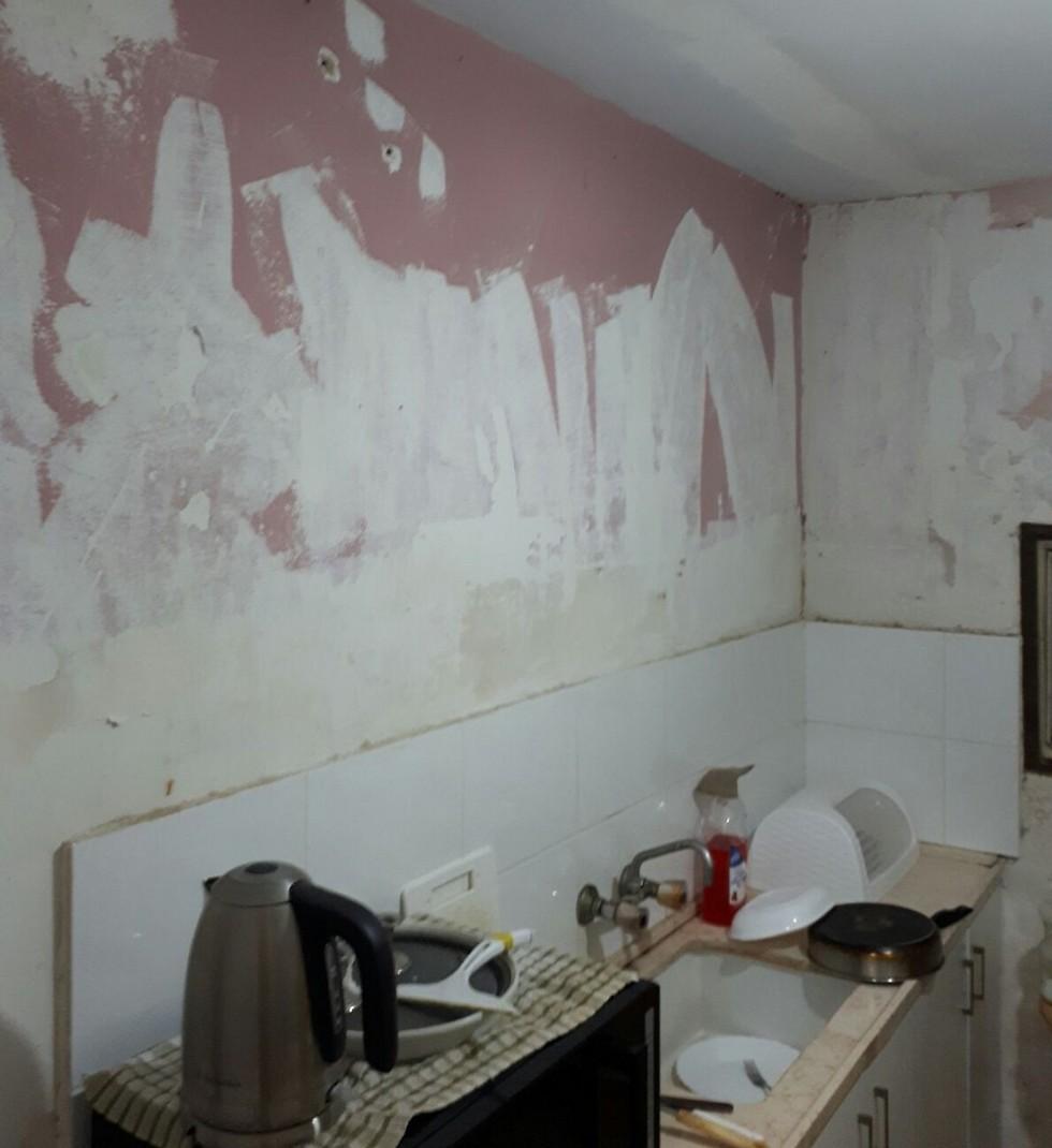 מטבח אחרי שיפוץ בדירה בבאר שבע ()