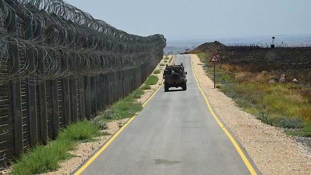 The Syrian border fence (Photo: Avihu Shapira)