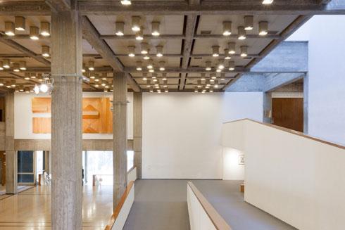 מוזיאון ת''א. התוכנית האדריכלית של ''טירפיץ'' מזכירה אותו מאוד (צילום: באדיבות מוזיאון תל אביב לאמנות)