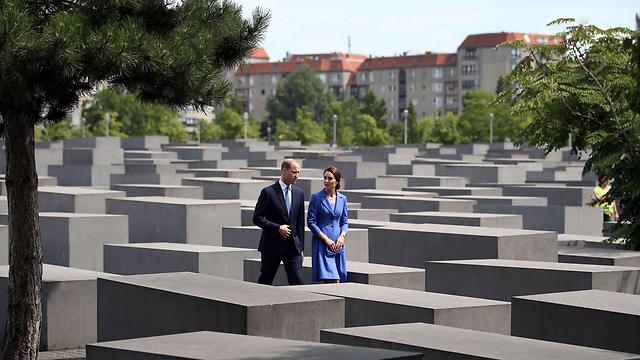 באנדרטת השואה בברלין (צילום: MCT) (צילום: MCT)
