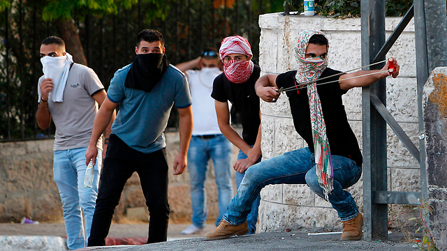 Clashes over tensions on the Temple Mount (Photo: AFP)