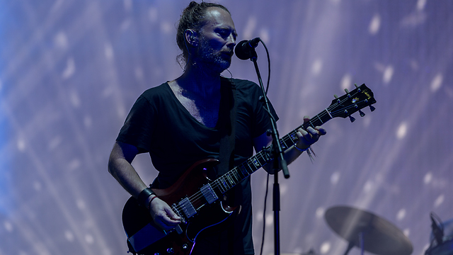 Thom Yorke's Radiohead faced criticism of their own, but performed nonetheless (Photo: Liron Shneider, Ariel Efron)