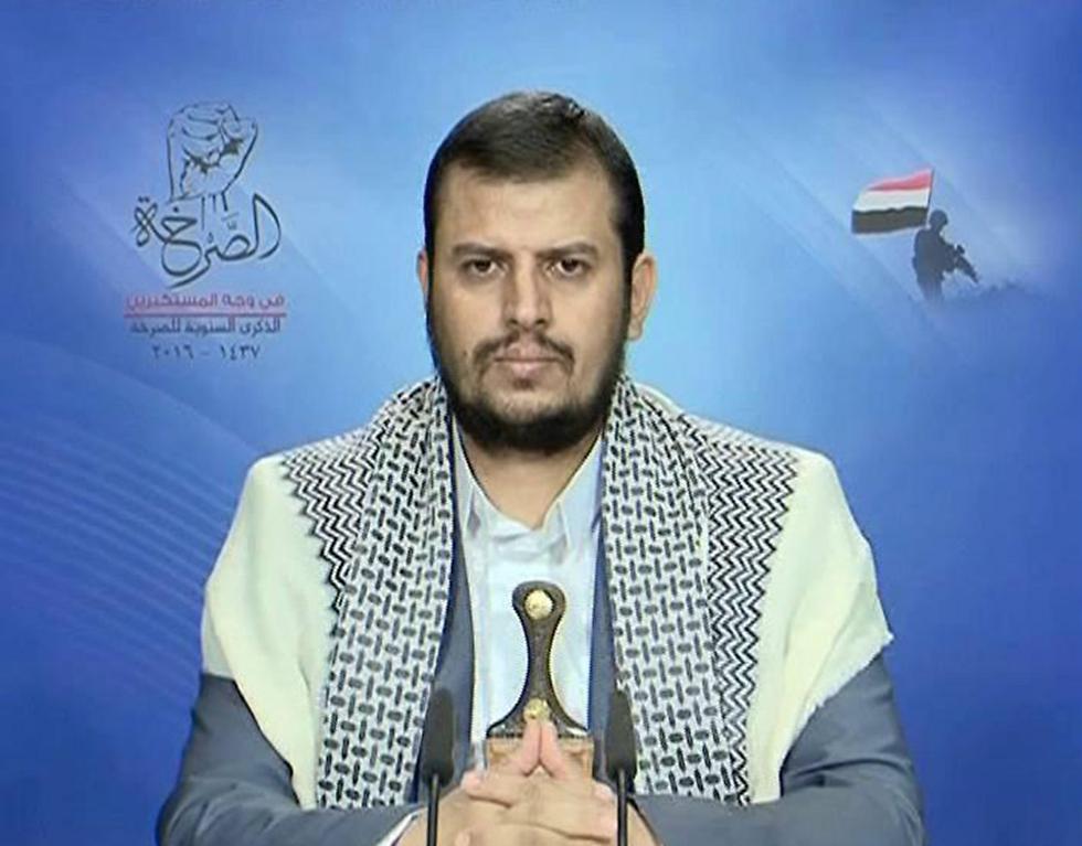 מנהיג החות'ים עבד אל-מאליכ בדר א-דין אל-חות'י ()