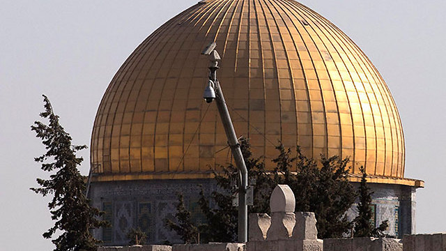 Al-Aqsa mosque under video surveillance (Photo: EPA)