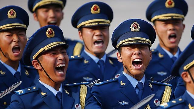 חיילי צבא סין (צילום: רויטרס)