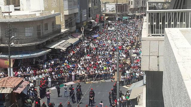 Friday's anti-Israel protest in Amman, Jordan