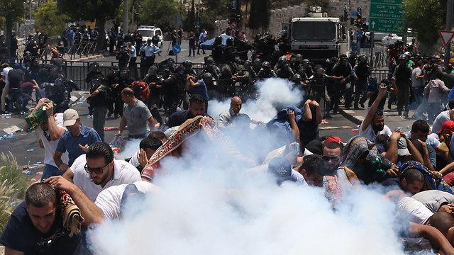 Clashes in Jerusalem (Photo: Amit Shabi)