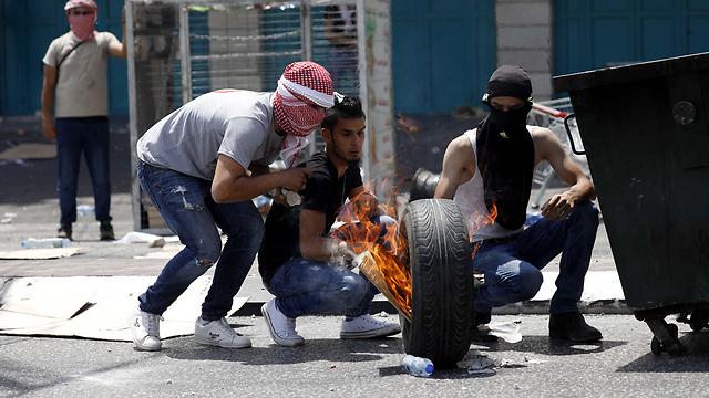 Clashes in Jerusalem (Photo: EPA)