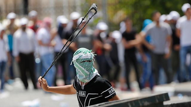 Clashes in Jerusalem (Photo: AP)