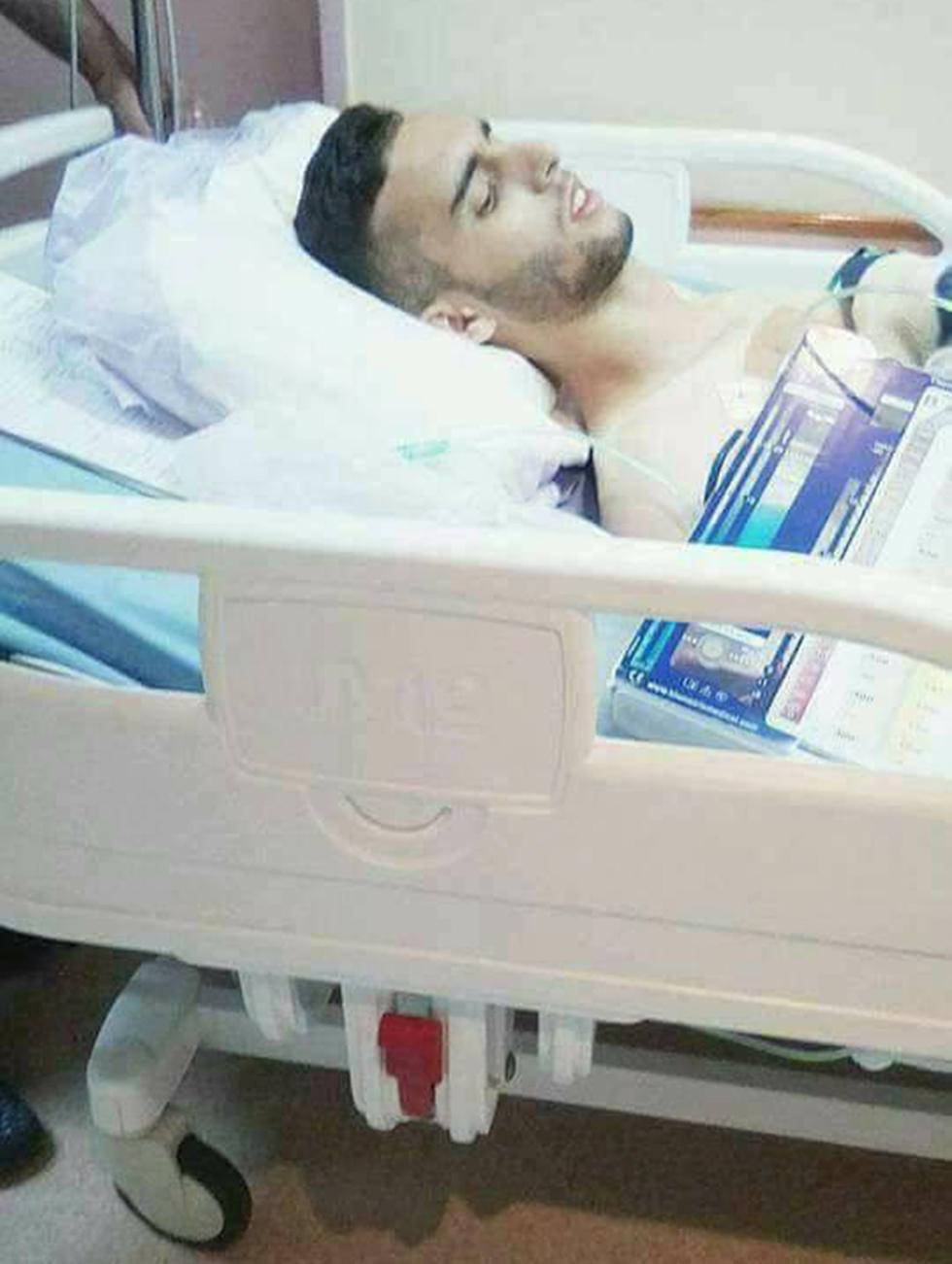 Террорист в больнице