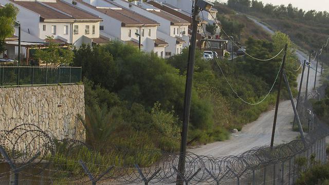 The West Bank settlement of Halamish (Photo: Ido Erez)