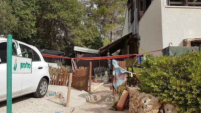 בית משפחת סלומון בנווה צוף-חלמיש (צילום: TPS) (צילום: TPS)