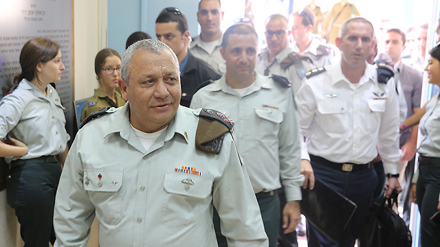 IDF Chief of Staff Gadi Eisenkot (Photo: Motti Kimchi) (Photo: Motti Kimchi)