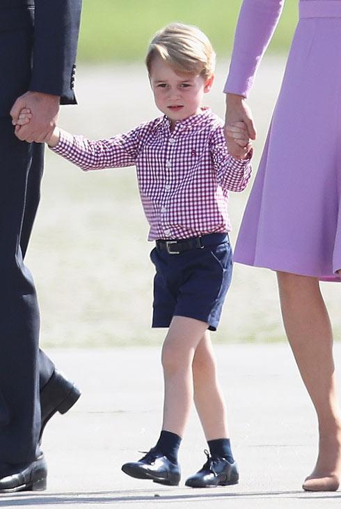 האסטרטגיה הפוליטית מאחורי הבגדים של הנסיך ג'ורג'. לחצו על התמונה לכתבה המלאה (צילום: Gettyimages)