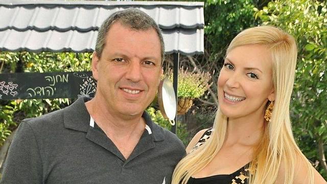 רמי פייג ואשתו בלה קאפשיב (צילום: ליאת לוי) (צילום: ליאת לוי)