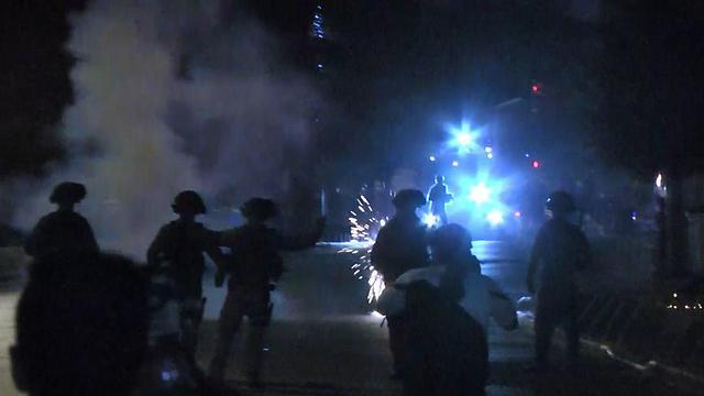 Clashes at Jerusalem (Photo: Gil Yohanan)