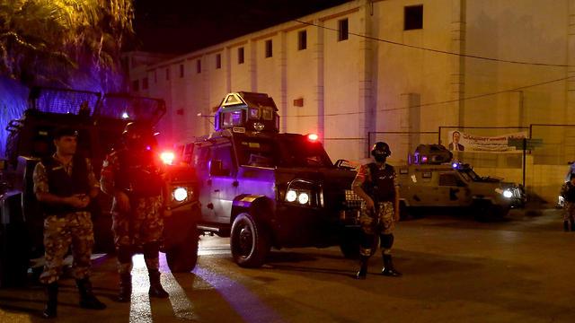 Теракт в Иордании. Фото: AFP