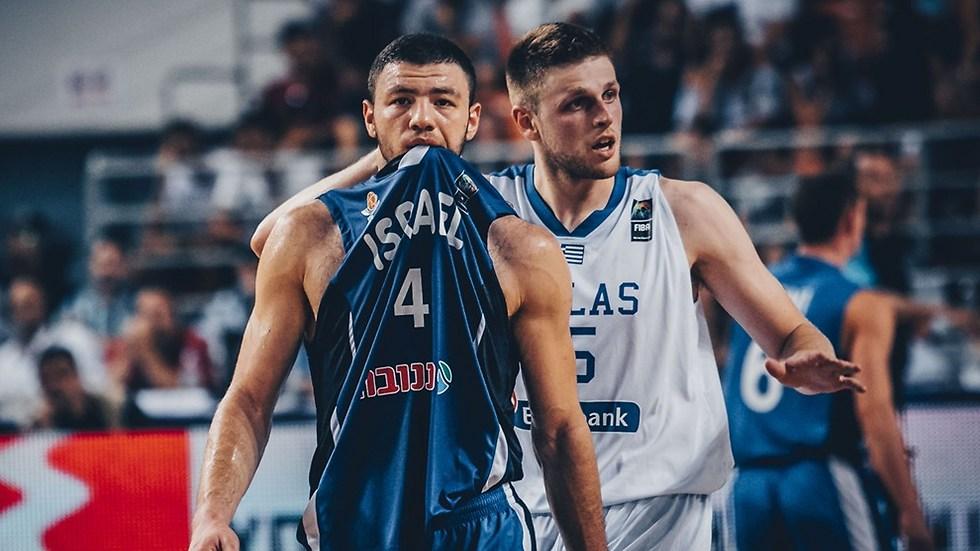 ארצי. היוונים עשו לישראל חיים קשים (צילום: FIBA) (צילום: FIBA)