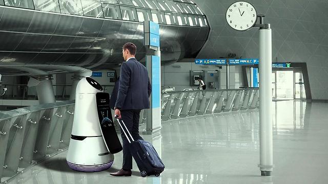 כך ייראה העתיד?רובוטים במקום בני אדם (צילום: LG)