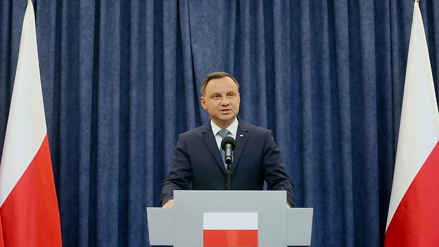 נשיא פולין אנדז'יי דודה (צילום: EPA)