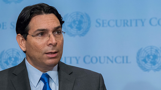 Israel's Ambassador to the UN Danny Danon (Photo: AP)
