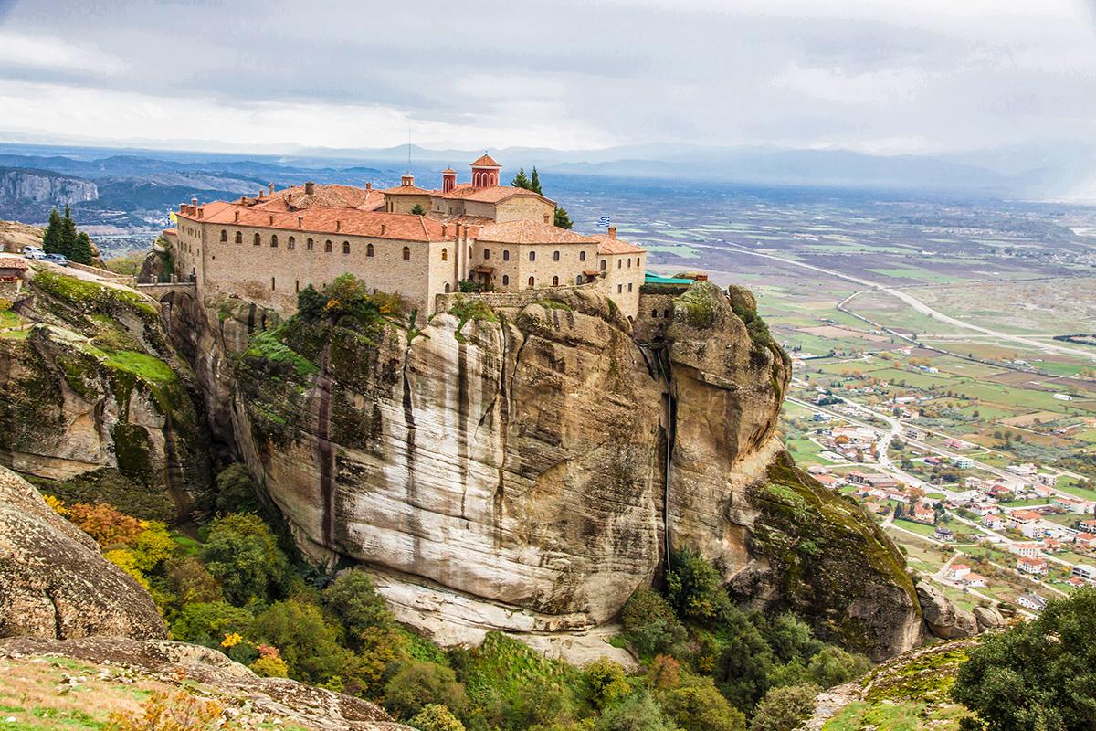 המנזרים התלויים, מטאורה (צילום: DepositPhotos)