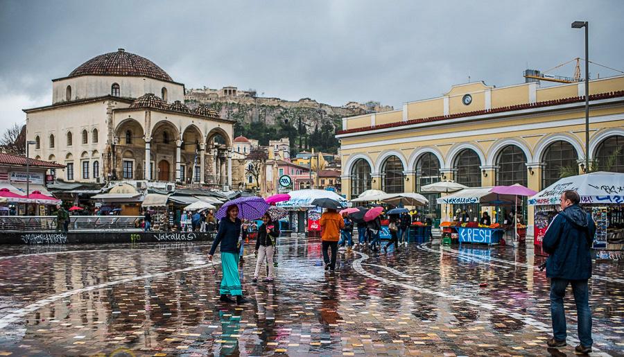 אתונה, יוון (צילום: אלי כרמי)