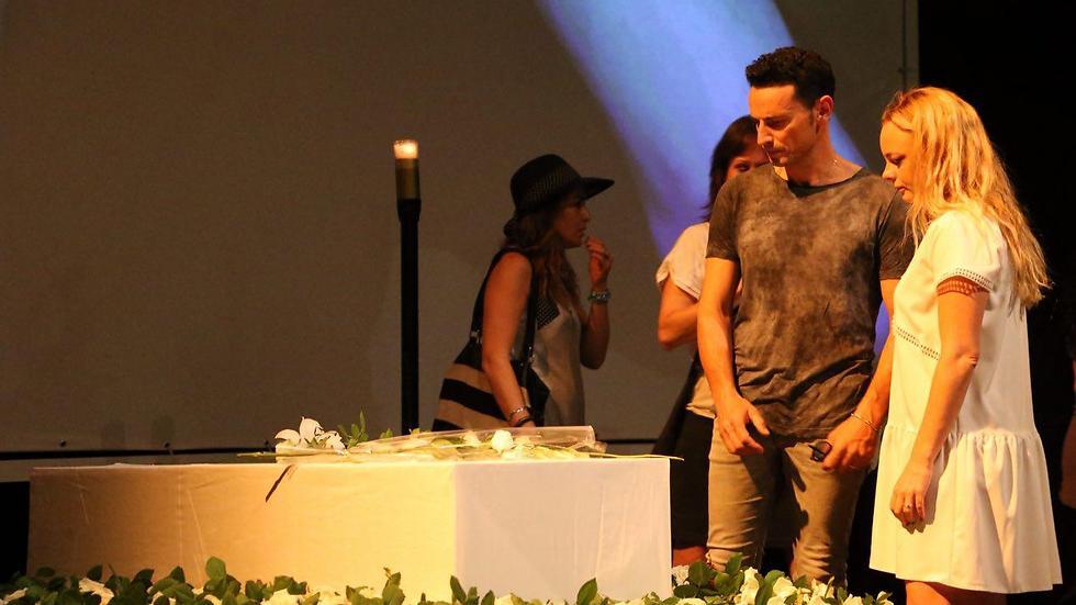 יעל בר זוהר וגיא זוארץ (צילום: מוטי קמחי) (צילום: מוטי קמחי)