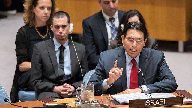 Israeli Ambassador to the UN Danny Danon (Photo: AP)