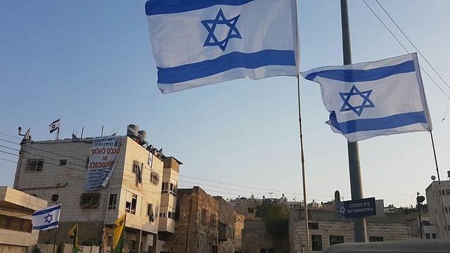 Zsidó telepesek költöztek egy újabb épületbe Hebronban
