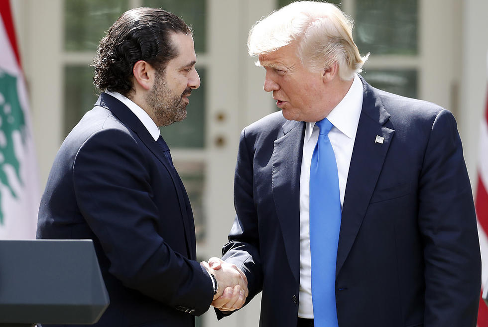Saad Hariri and President Trump at the White House (Photo: AP)