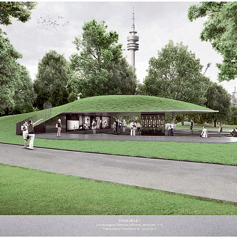 Planned design of the memorial
