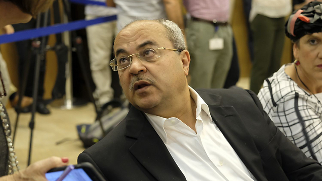 MK Tibi belied the problem can be traced to smuggling weapons from IDF bases (Photo: Yoav Dudkevitch) (Photo: Yoav Dudkevitch)