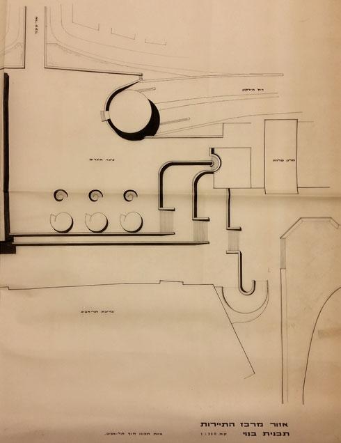 לחצו לכתבה המלאה (תכנית: באדיבות ארכיון משרד רכטר אדריכלים)