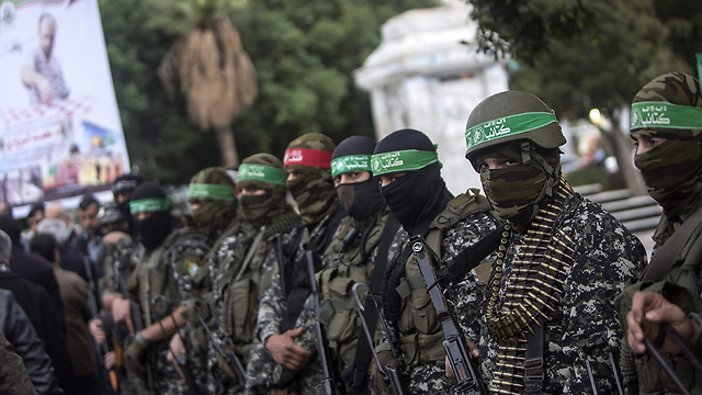 Hamas fighters in Gaza (Photo: AFP)