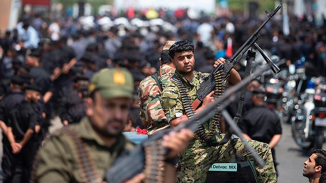 Военный парад в Газе. Фото: АР