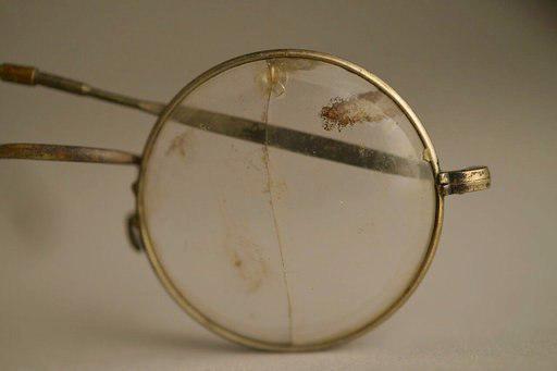 Eyeglasses from Auschwitz (Photo: AP)