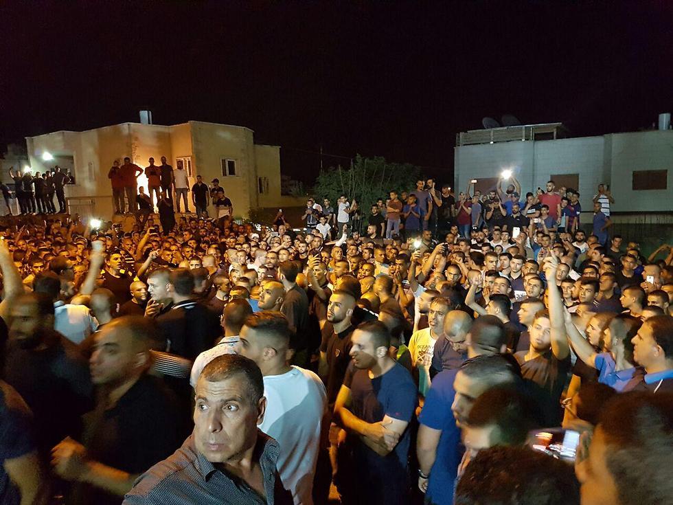 Funerals of the terrorists in Umm al-Fahm