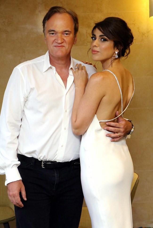 בקרוב נשואים. דניאלה פיק וקוונטין טרנטינו (צילום: אמיר מאירי)