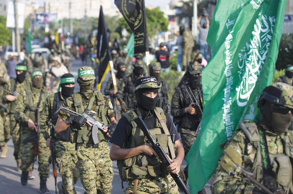 ХАМАС грозит войной. Фото: MAHMUD HAMS