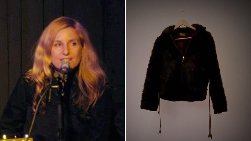 """""""אפילו המעיל השחור דמוי הפרווה של דפנה בר ציון לא הצליח להגן עליה"""""""
