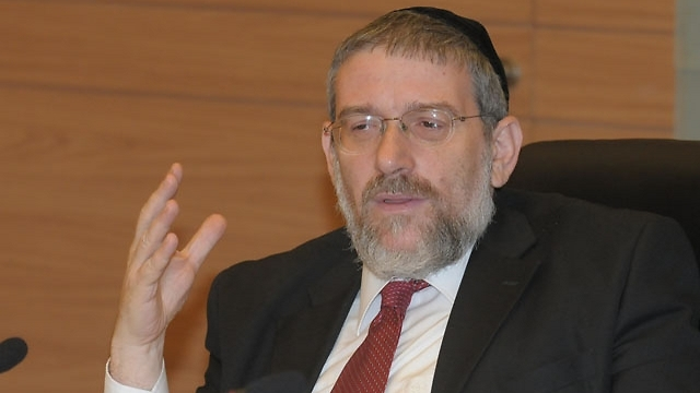 Rabbi Micharl Melchior (Photo: Guy Asiag)