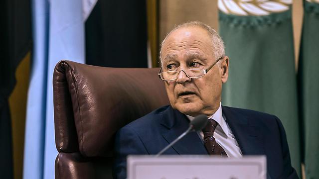Arab League head Ahmed Aboul Gheit