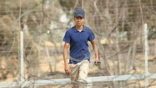 The Palestinian youth who was killed in the clashes