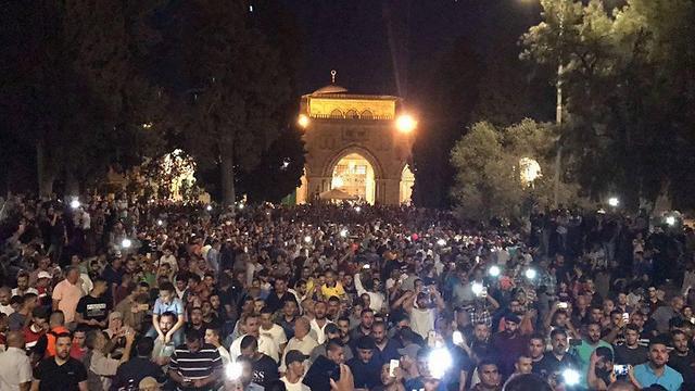 Ночь на Храмовой горе