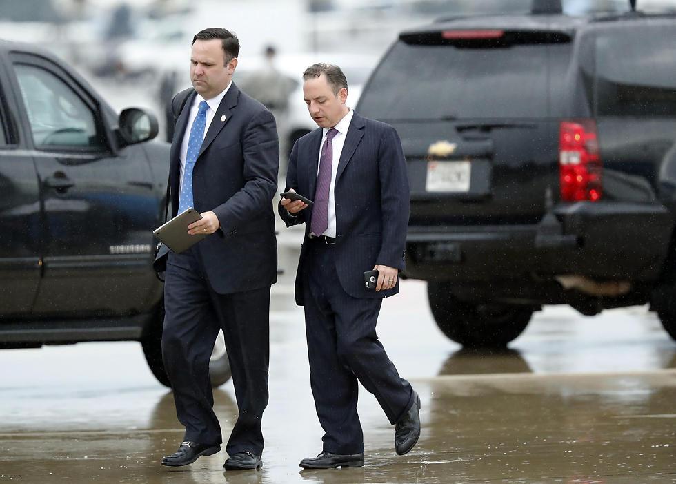 הודח בטוויטר. ראש סגל הבית הלבן היוצא ריינס פריבוס (צילום: AP) (צילום: AP)