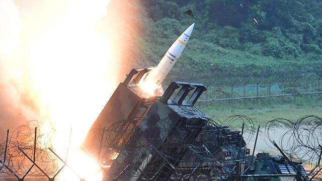 """האיום הצפון קוריאני: """"שיתאפסו על עצמם"""" (צילום: EPA)"""