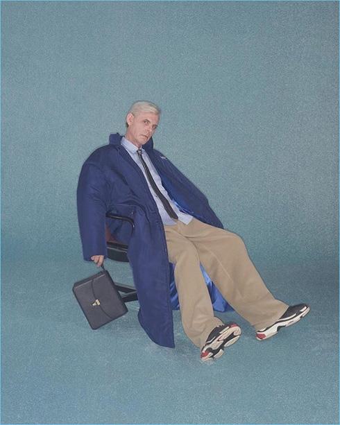 הקמפיין של בלנסיאגה. מעדיפים דווקא מלבינים שאינם מפורסמים (צילום: Johnny Dufort)